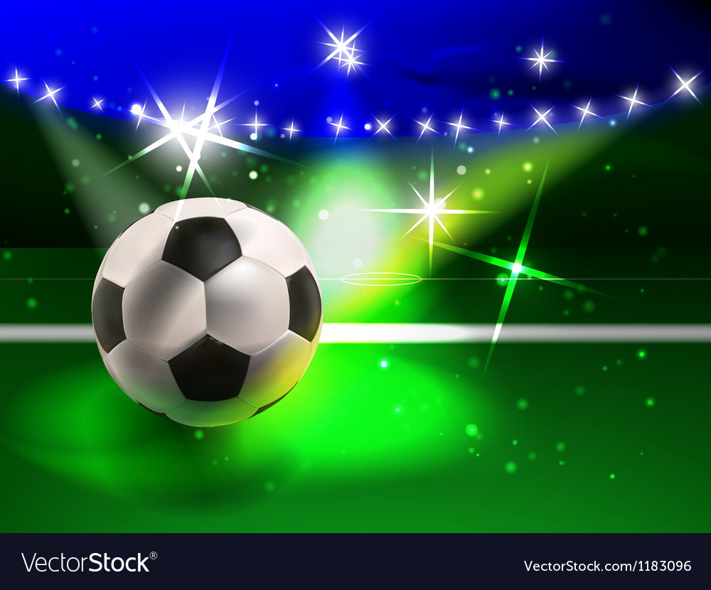 Football spectacle vector | Price: 1 Credit (USD $1)