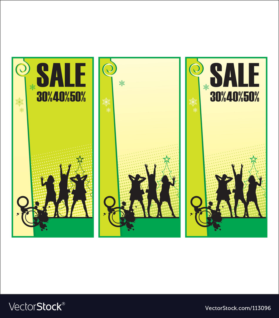 Sale posters vector | Price: 1 Credit (USD $1)