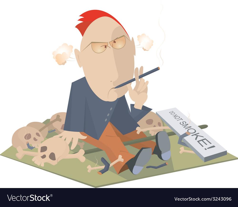 Smoking is killing vector | Price: 1 Credit (USD $1)