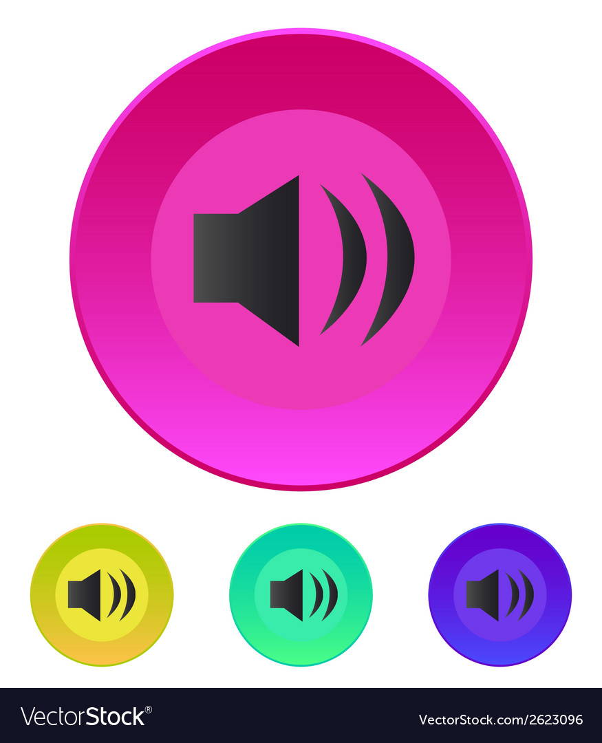 Speaker icon volume max vector | Price: 1 Credit (USD $1)