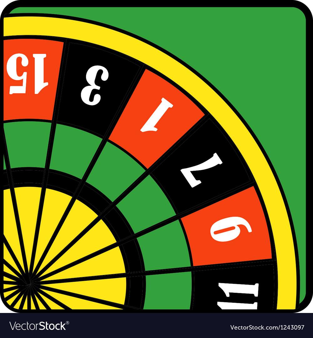 Roulette wheel vector | Price: 1 Credit (USD $1)