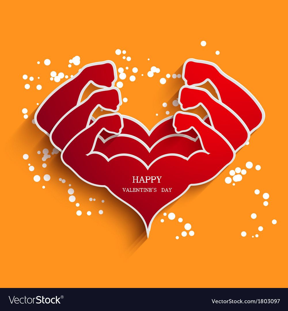 Valentines day background eps10 vector | Price: 1 Credit (USD $1)