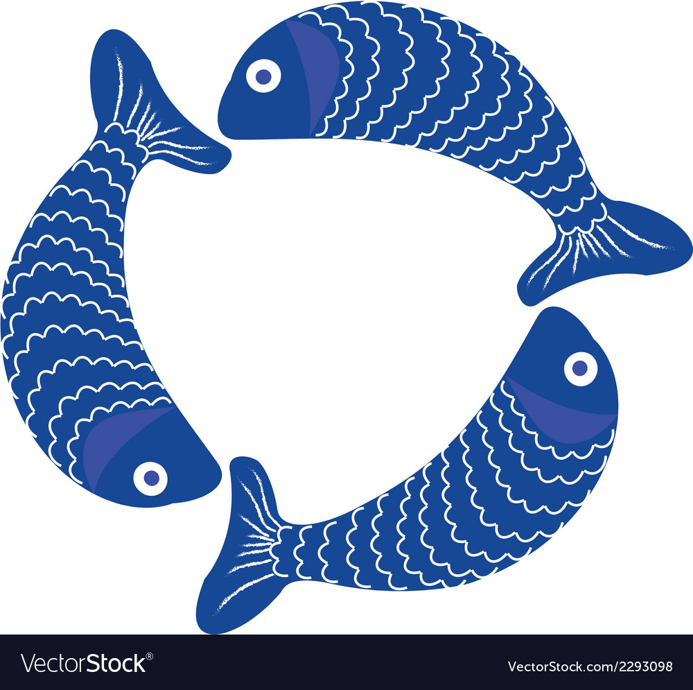Fish 1 v vector | Price: 1 Credit (USD $1)