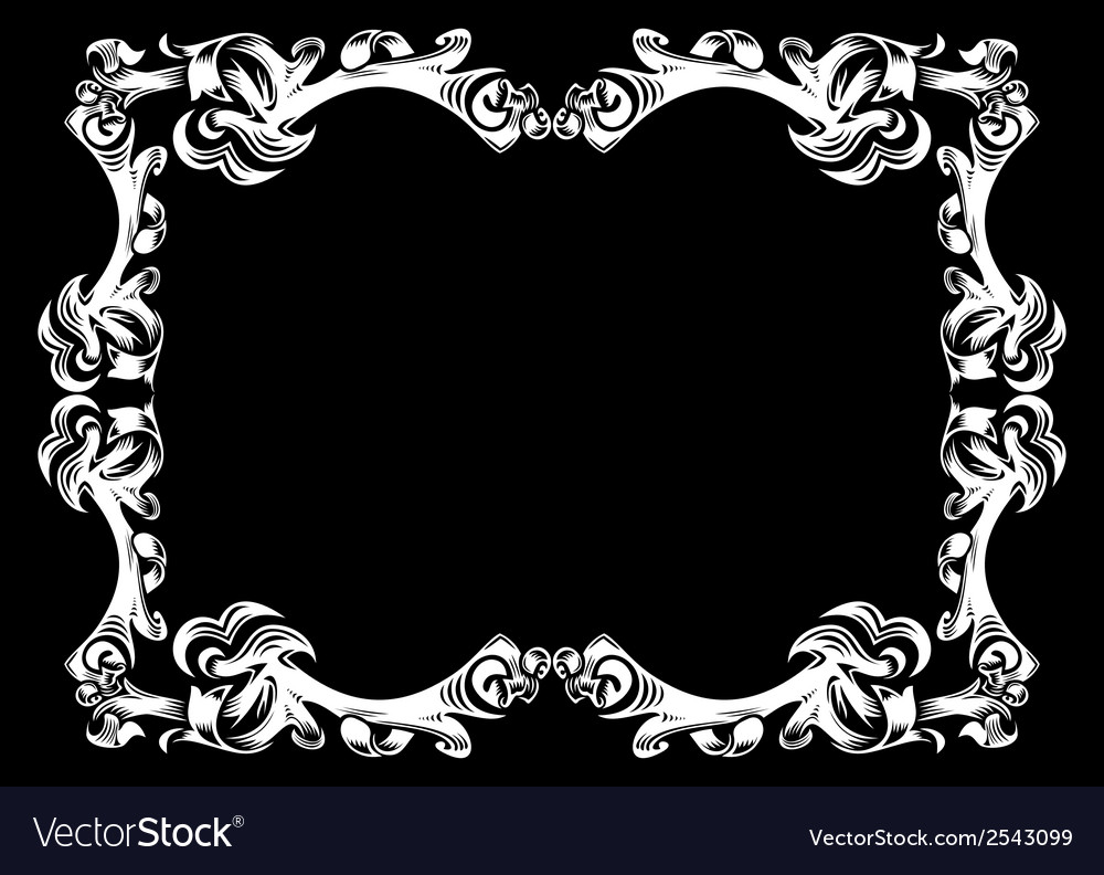 Abstract frame vector | Price: 1 Credit (USD $1)
