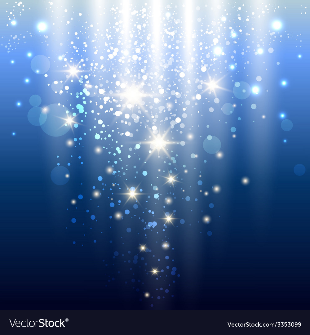 Blue lights vector | Price: 1 Credit (USD $1)