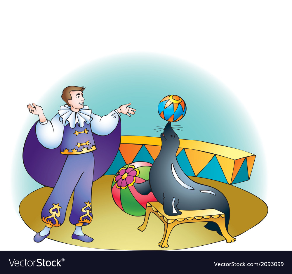 Circus show vector | Price: 1 Credit (USD $1)