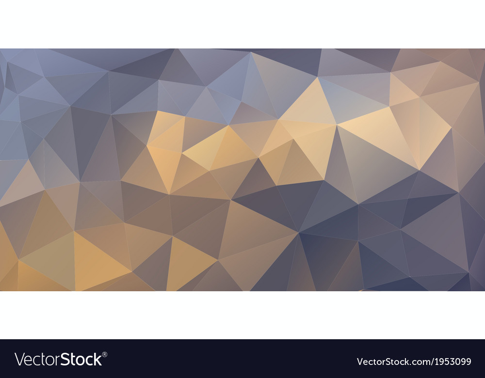 Triangular background vector | Price: 1 Credit (USD $1)
