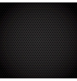 Black background of carbon fibre texture vector