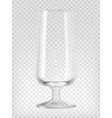 Beer goblet vector