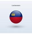Liechtenstein round flag vector