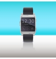 Electronic watch computer interface vector