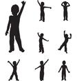 Child dancing vector