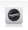 Privacy icon vector