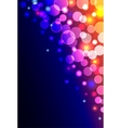 Abstract vertical shiny background vector