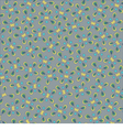 Pattern yellow-gray vector