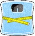 Bathroom blue scale vector