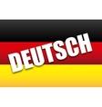 Deutsch design vector