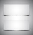 Two box shadows vector