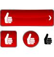 Good button set vector