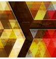 Abstract retro geometric background with place for vector