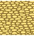 Seamless texture walls of natural stone vector