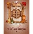Wild west saloon poster vector