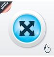 Fullscreen sign icon arrows symbol vector