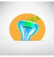 Concept bulb drawing vector