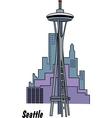 Seattle washington vector
