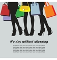 Shopping time vector
