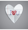 Happy valentines day vector