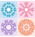 Set of ornamental patterns vector