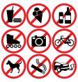 Prohibited vector