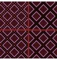 Brown rhombuses and polka dot vector
