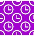 Watch web icon flat design seamless pattern vector