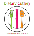 Dietary cutlery vector