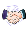 Partnership handshake vector