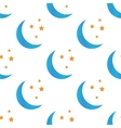 Colored night symbol pattern vector