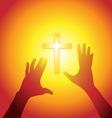 Religion silhouette vector