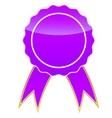 Purple medal vector