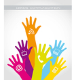 Hands communication vector