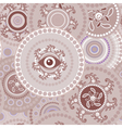 Tribal seamless paisley abstract texture vector