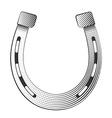 Metal horseshoe vector