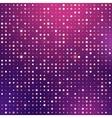 Glowing dots vector