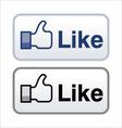 Like button vector