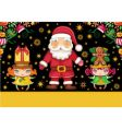 Christmas card series vector