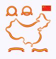 Colors of china vector