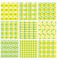 Patchwork patterns vector