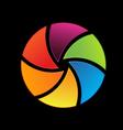 Shutter logo vector