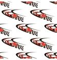 Car racing seamless pattern vector